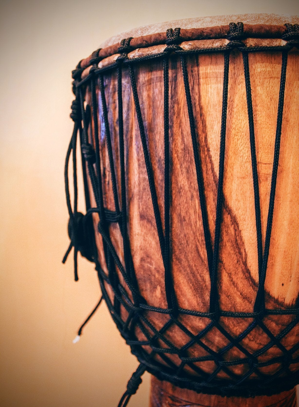 How to assemble a djembe from scratch?