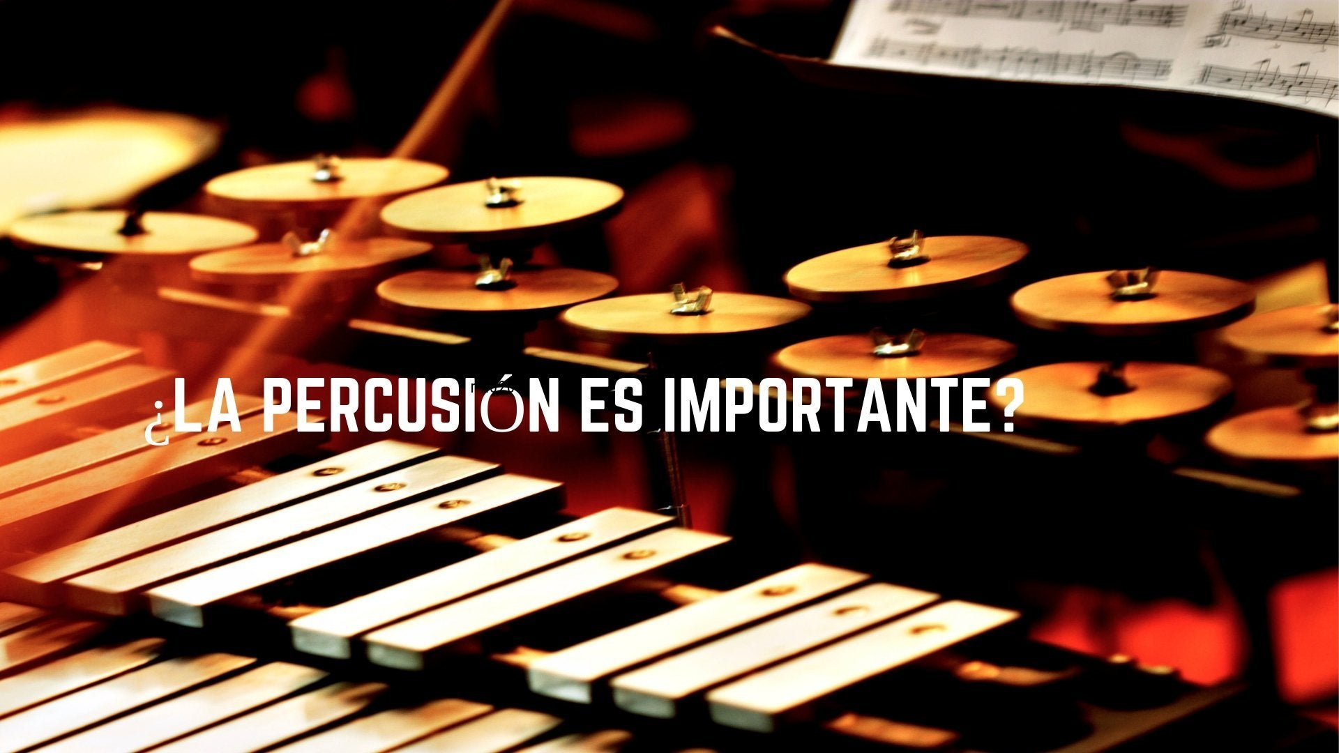 Why is percussion important?