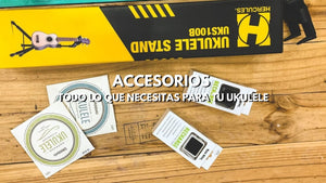 Ukulele accessories available
