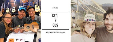 Who we are Ukuleleria Ceci and Gus Ceci Rosas Rule Gustavo Rodriguez Bojoruqez