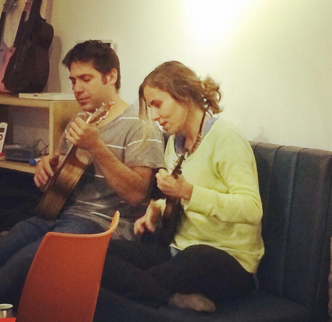 ukulele couple