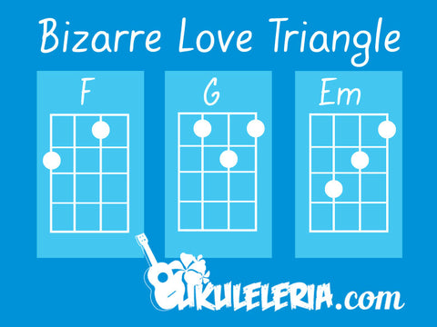 Bizarre love triangle ukulele