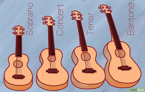 ukulele sizes differences