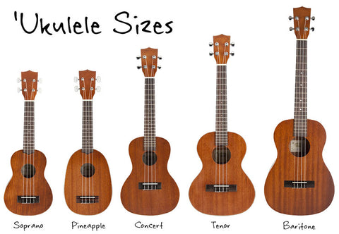 ukulele sizes Mexico