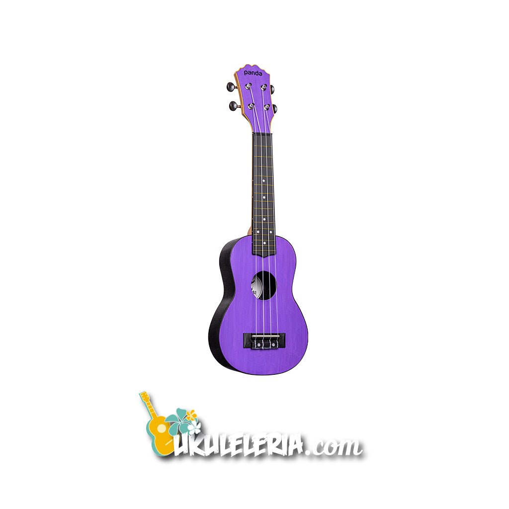 AMAHI Ukulele Watercolor Soprano Purple