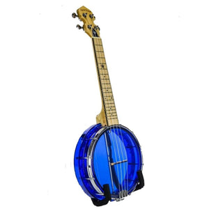 BANJOLELE  CONCERT GEM BLUE GOLDEN TONE