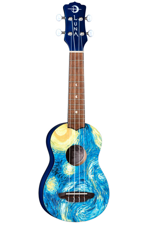 UKULELE SOPRANO STARRY NIGHT BRAND MOON