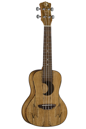 Uke Crescent Spalt Maple Concert- Satin Natural