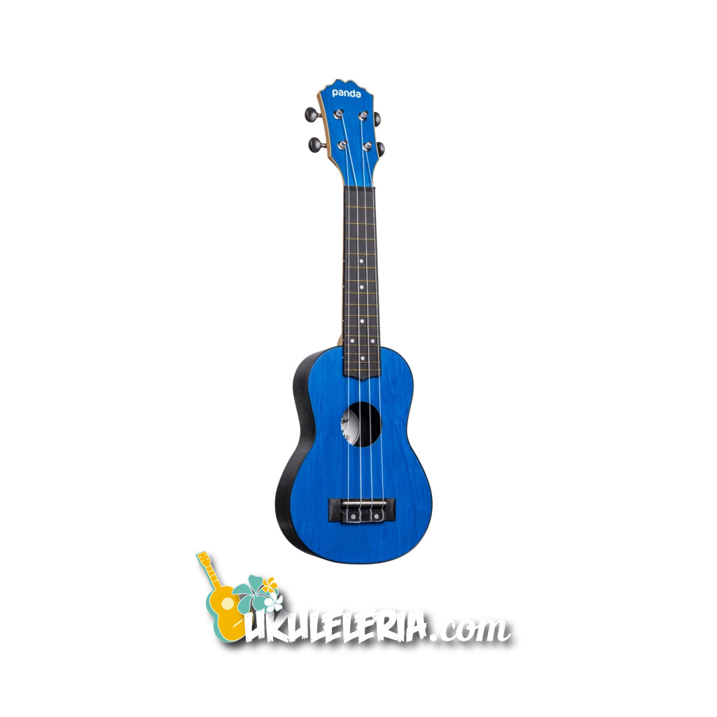AMAHI Ukulele Watercolor Soprano Dark Blue