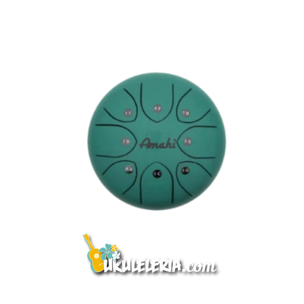 "AMAHI Metal Reed Drum 8 ""Green"