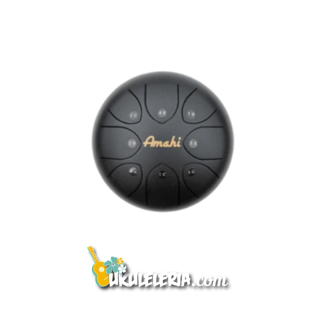 "AMAHI Metal Reed Drum 8 ""Black"