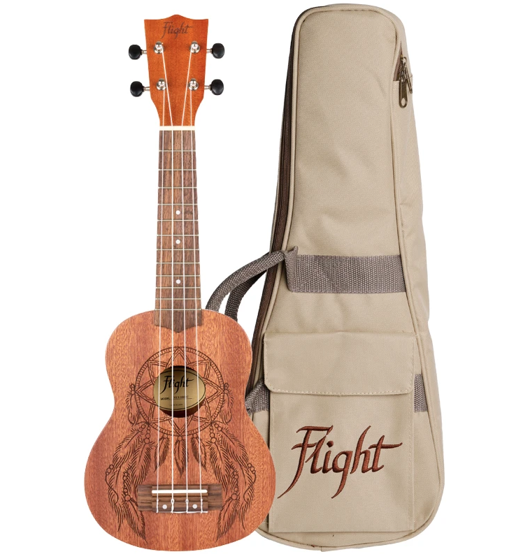 Ukulele Flight NUS350 Soprano Dreamcatcher