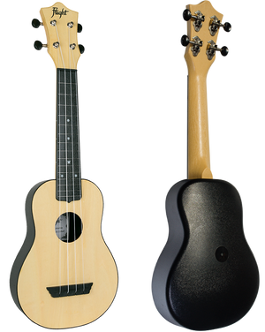 UKULELE SOPRANO FLIGHT TUS-35 NATURAL