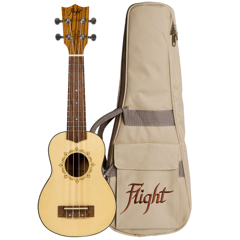 UKULELE SOPRANO FLIGHT DUS 320