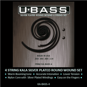 KALA Accessories KALA METAL ROUND WOUND U • BASS STRINGS