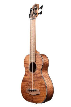 KALA Ukuleles, Basses U BASS METAL STRINGS EXOTIC MAHOGANY C CASE