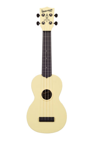 KALA Ukuleles UKULELE WATERMAN YELLOW AND BLACK MATTE