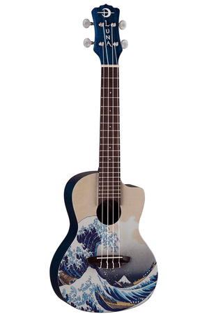 LUNA Ukuleles Default Uke Great Wave Concert