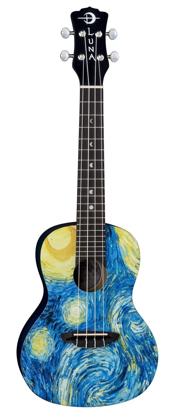 LUNA Ukuleles Default Uke Starry Night Concert