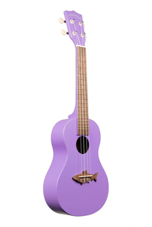 MAKALA Ukuleles Default Shark Concierto Vintage Purple