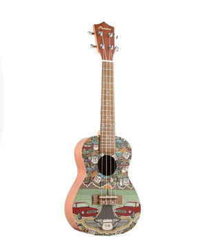 Route Lover Concert Ukulele (includes bag) brand BAMBOO