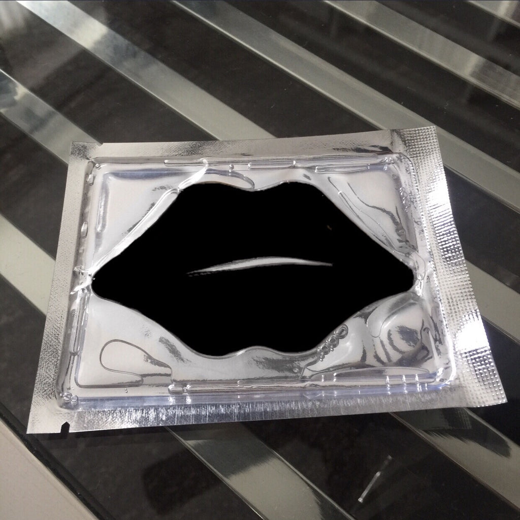 Lip Mask (Black) - Purifying/Volcanic Mud