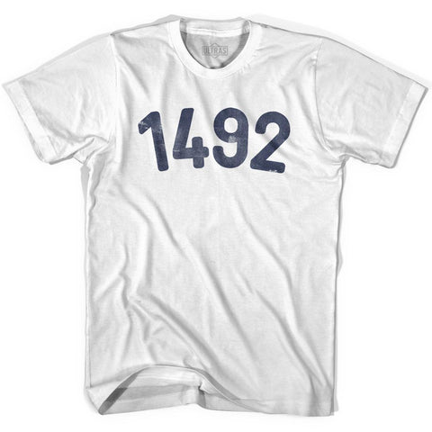 1492 Year Celebration Adult Cotton T-shirt