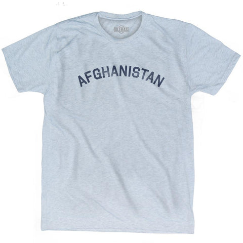 Afghanistan Vintage City Adult Tri-Blend T-shirt