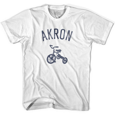 Akron City Tricycle Adult Cotton T-shirt