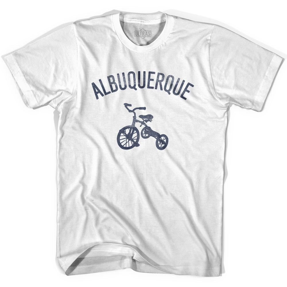 Albuquerque City Tricycle Adult Cotton T-shirt by Ultras