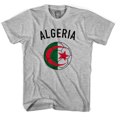 Algeria Soccer Ball T-shirt in White by Neutral FC