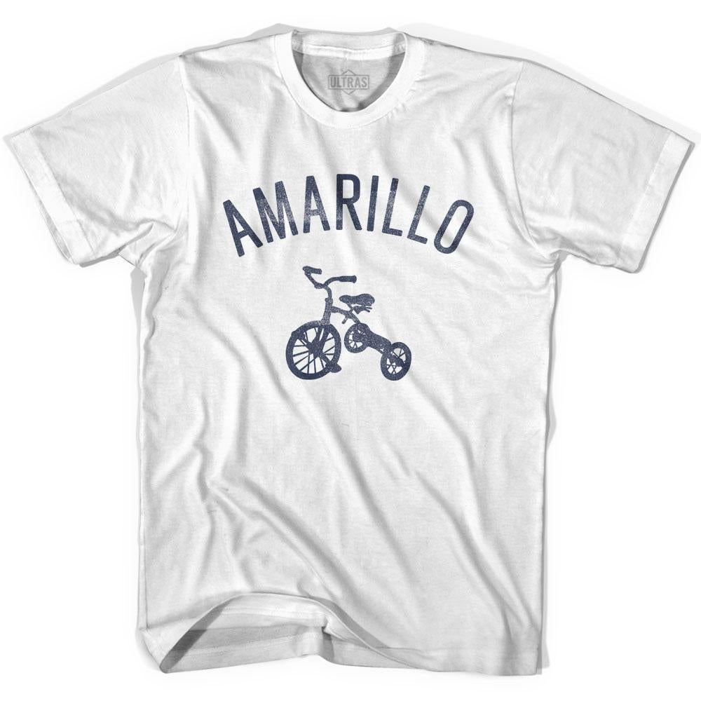 Amarillo City Tricycle Adult Cotton T-shirt by Ultras
