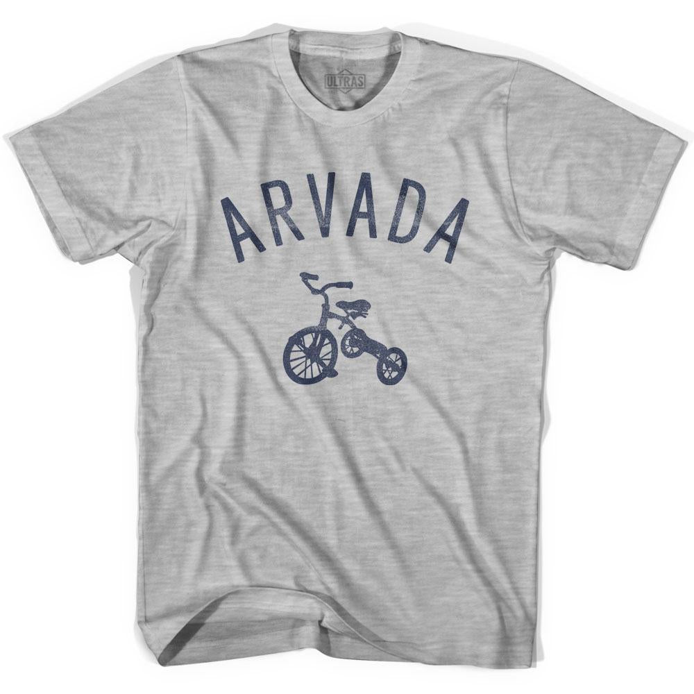 Arvada City Tricycle Adult Cotton T-shirt by Ultras