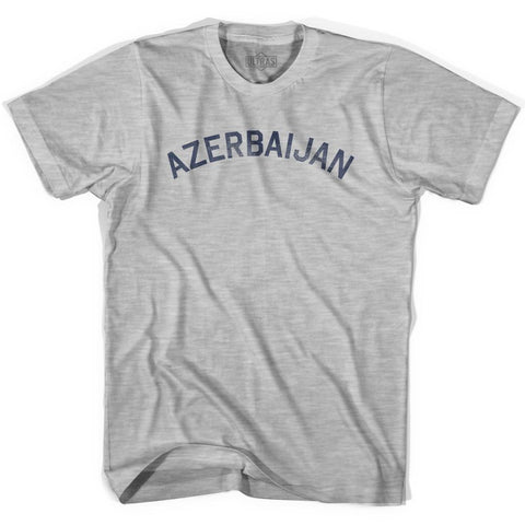 Azerbaijan Vintage City Womens Cotton T-shirt