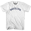 Barcelona Vintage T-shirt in Grey Heather by Mile End Sportswear