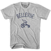 Bellevue City Tricycle Adult Cotton T-shirt by Ultras
