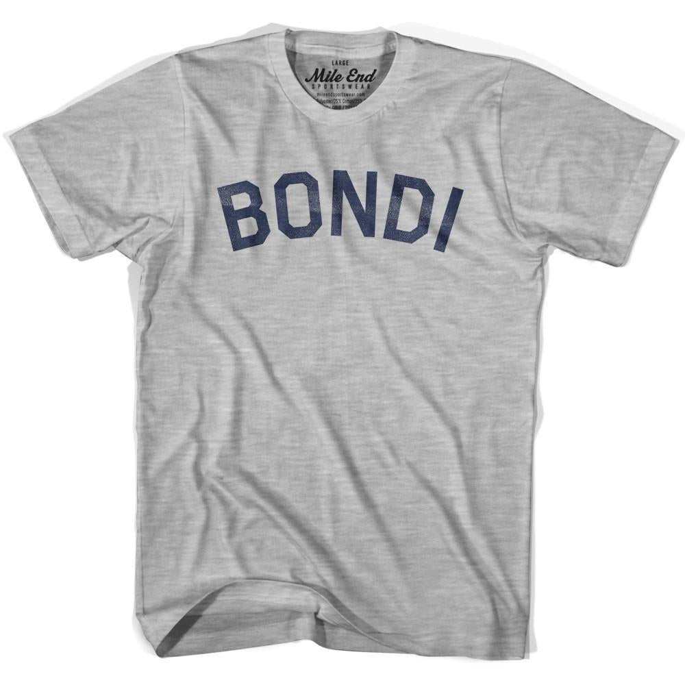 Bondi City Vintage T-shirt in Grey Heather by Mile End Sportswear