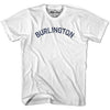 Burlington City Vintage T-shirt in Grey Heather by Mile End Sportswear