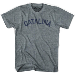 Catalina City Vintage T-shirt in Athletic Blue by Mile End Sportswear