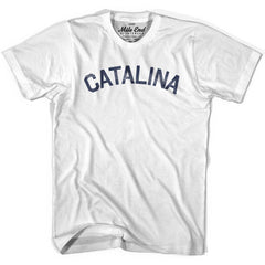Catalina City Vintage T-shirt in Grey Heather by Mile End Sportswear