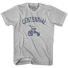 Centennial City Tricycle Adult Cotton T-shirt by Ultras