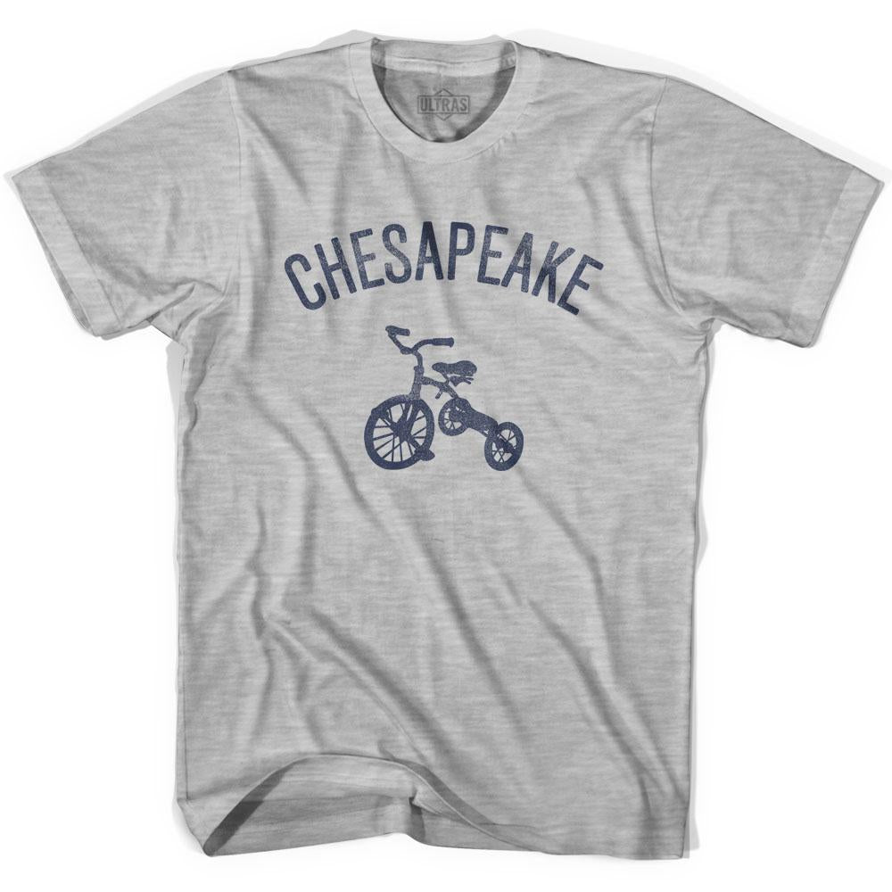 Chesapeake City Tricycle Adult Cotton T-shirt by Ultras