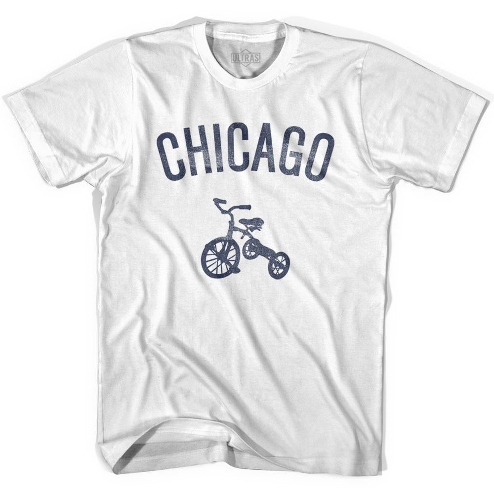 Chicago City Tricycle Adult Cotton T-shirt by Ultras