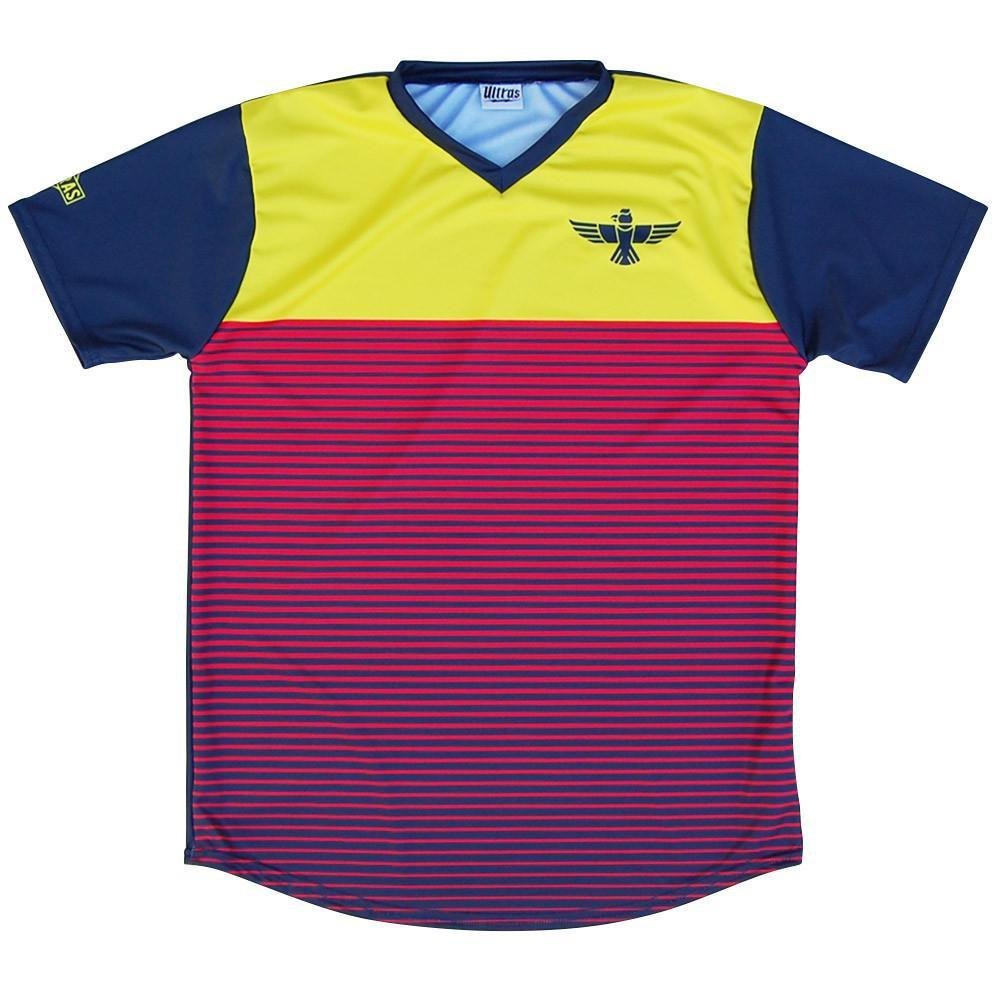 Colombia Rise Soccer Jersey in Navy by Ultras