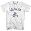 Columbia City Tricycle Adult Cotton T-shirt by Ultras