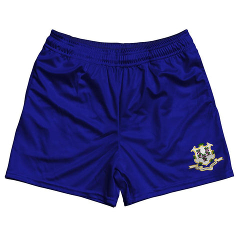 Connecticut State Flag Rugby Shorts Made In USA
