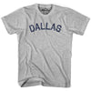 Dallas City Vintage T-shirt in Grey Heather by Mile End Sportswear