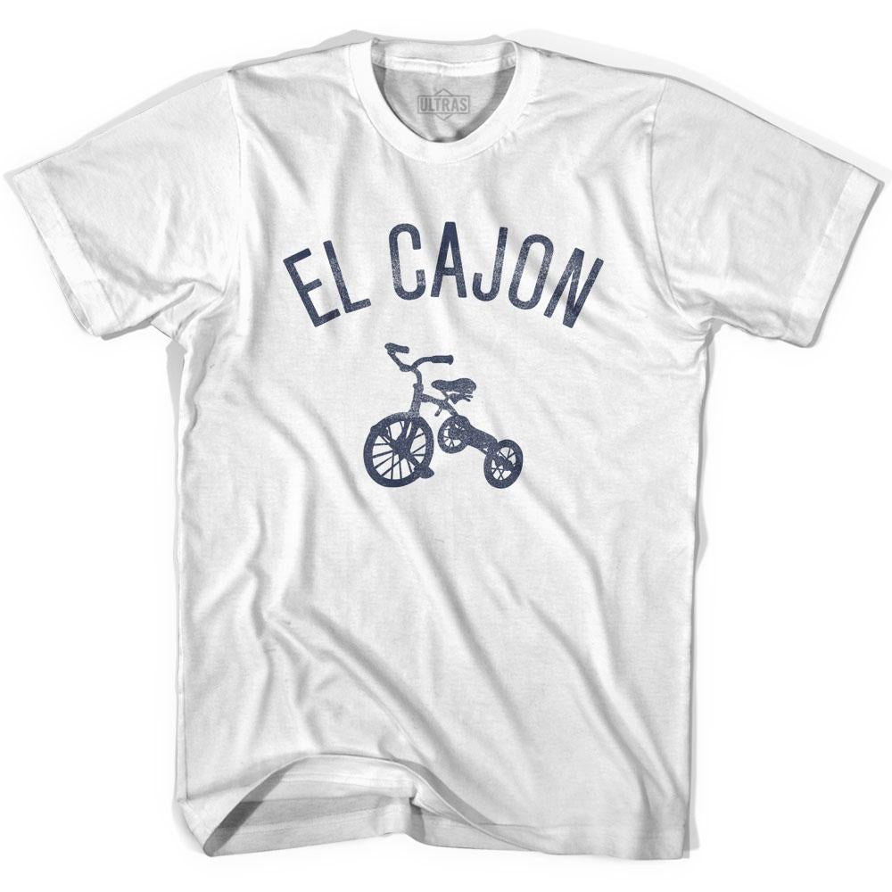 El Cajon City Tricycle Adult Cotton T-shirt by Ultras