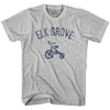 Elk Grove City Tricycle Adult Cotton T-shirt by Ultras