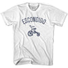 Escondido City Tricycle Adult Cotton T-shirt by Ultras